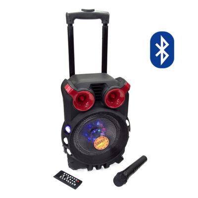 Hordozható Karaoke hangfal szett vezeték nélküli mikrofonnal DWQ