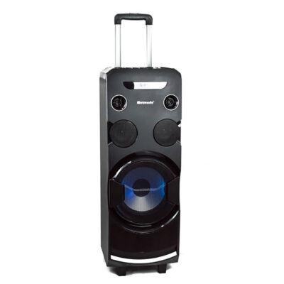 Hordozható Karaoke hangfal szett 2 vezeték nélküli mikrofonnal MH-338A