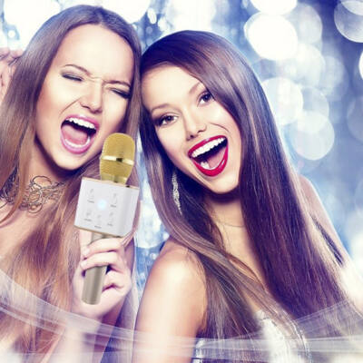 Vezeték nélküli Karaoke Bluetooth Mikrofon Hangszóró