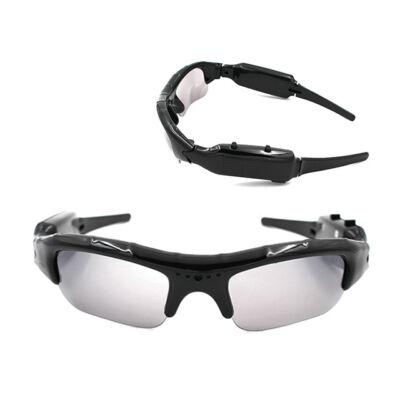 Napszemüveg Sportszemüveg Rejtett Kamera