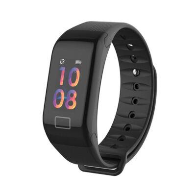 WearFit pulzus vérnyomás véroxigénmérő IP67 okoskarkötő színes OLED kijelző