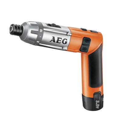 AEG akkus rúdcsavarozó SE 3,6 Li-152C 3,6V 1,5Ah