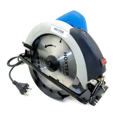 Höxter elektromos körfűrész lézerrel 185mm 2600W HX-8070