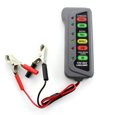 Akkumulátor, generátor teszter 12-24 V