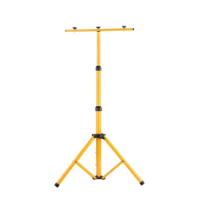Állvány munkalámpákhoz reflektorokhoz állítható sárga 160cm