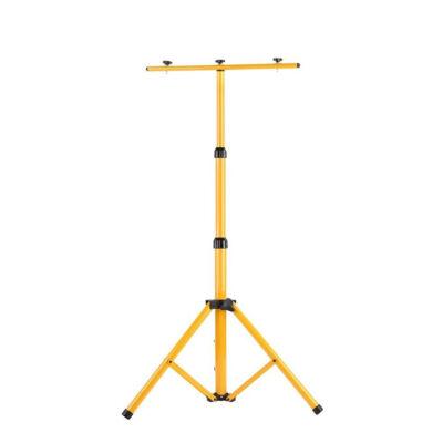 Állvány munkalámpákhoz reflektorokhoz állítható sárga 200cm