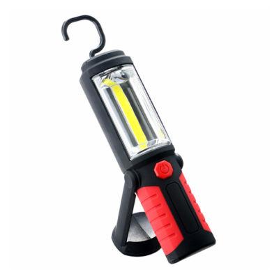 Mágneses COB LED Munkalámpa Kézi
