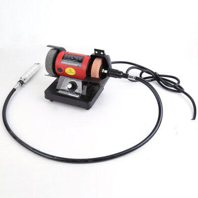 Mini kettős köszörűgép flexibilis szárral 150W