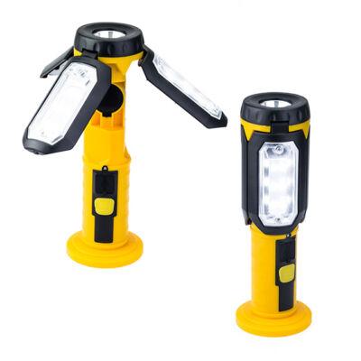Mágneses LED Munkalámpa Kézi Akkumulátoros 360° ZX001
