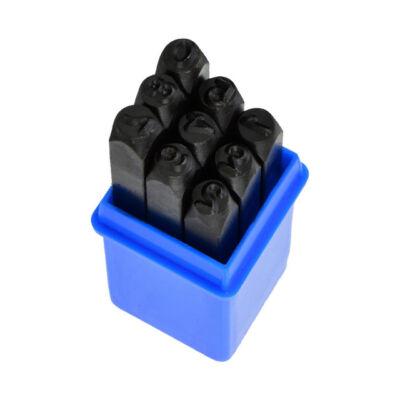 Geko számbeütő készlet 9 darabos 6mm G01810