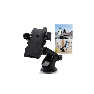 Egykezes univerzális autós telefontartó szélvédőre