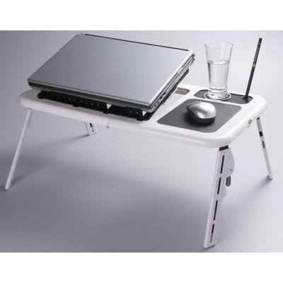 Notebook Laptop asztal tartó beépített usb ventilátorral