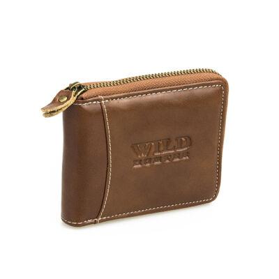 Férfi bőr pénztárca MG28