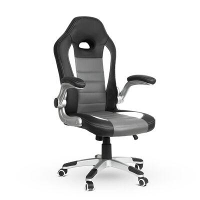 Gamer szék lehajtható karfával