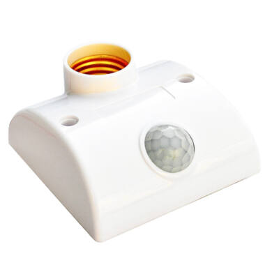 E27 infravörös mozgásérzékelő lámpa foglalat fényvezérlő kapcsoló