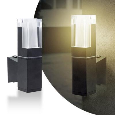Kültéri LED fali lámpa 5 W meleg fehér