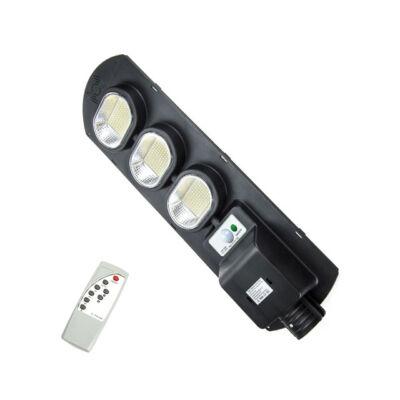 Napelemes szolár LED kültéri lámpa integrált szolár panellel távirányítóval 300W IP67
