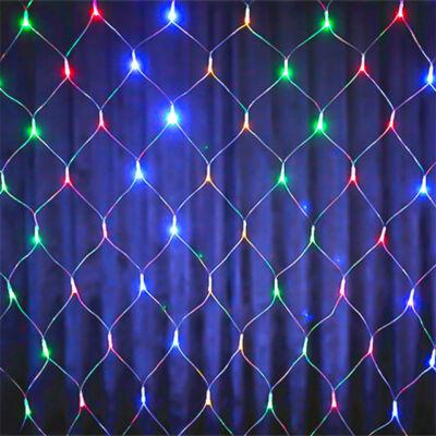 LED Beltéri Háló Fényháló SZÍNES 1,6mx1,2m