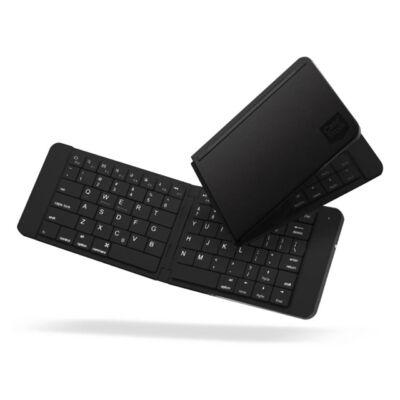 Case Studi vezeték nélküli összecsukható billentyűzet Bluetooth fekete