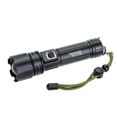 X-BALOG akkumulátoros LED zseblámpa P90 BL-L-5-P90