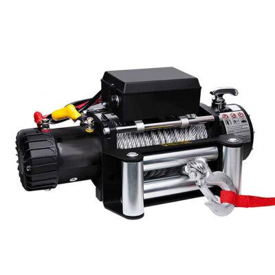 Haina 12V elektromos csörlő 4100 kg görgős léccel HA-2256