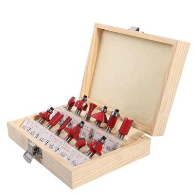 Marófej szett fa maró felsőmaróhoz 12 részes 8mm