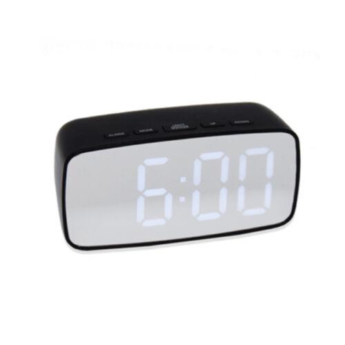 Digitális LED tükör kijelzős asztali ébresztő óra hőmérő GH0711L