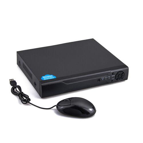 8 csatornás DVR beltéri kamera rögzítőegység AHD