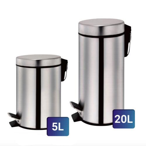 Zurrichberg 2 részes 5L+20L rozsdamentes acél pedálos szemetes ZB/8024/8025