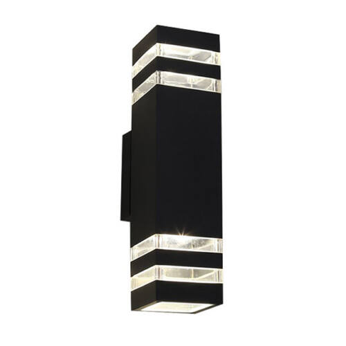 Kültéri fali lámpa IP54 fém ház 30cm SNHL 1456