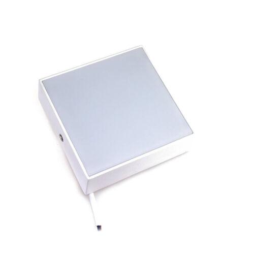LED lámpa 16W 120x120mm hideg fehér