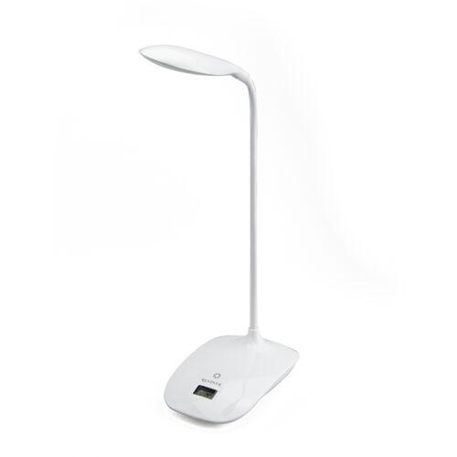 Akkumulátoros LED-es asztali lámpa flexibilis szárral