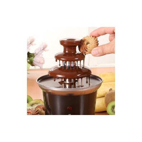 Emeletes csokoládé szökőkút fondue
