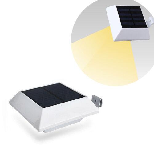Ereszcsatornára szerelhető napelemes lámpa fehér 4 LED