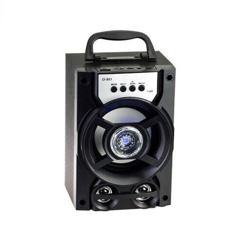 Bluetooth Multimédia Lejátszó TF USB AUX FM D-B13