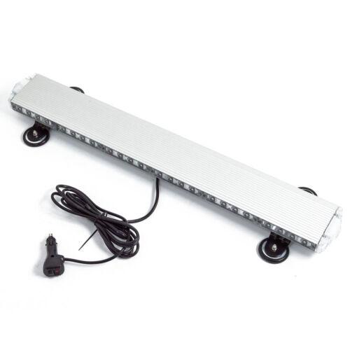 Autós LED Négyoldalas Vészvillogó borostyánsárga színű 78cm 180W mágneses tartóval
