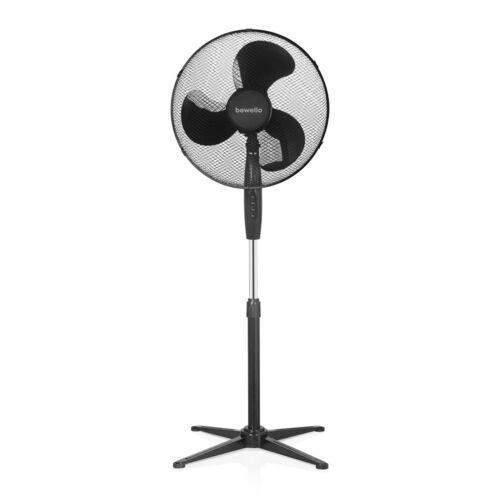 Álló ventilátor 38 cm átmérő fekete