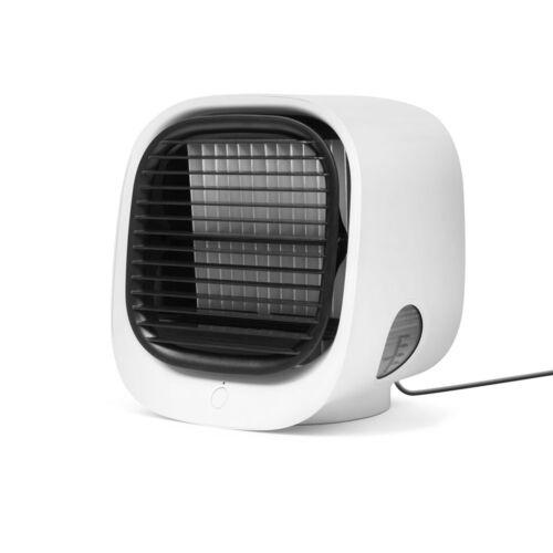 Hordozható mini léghűtő ventilátor USB fehér