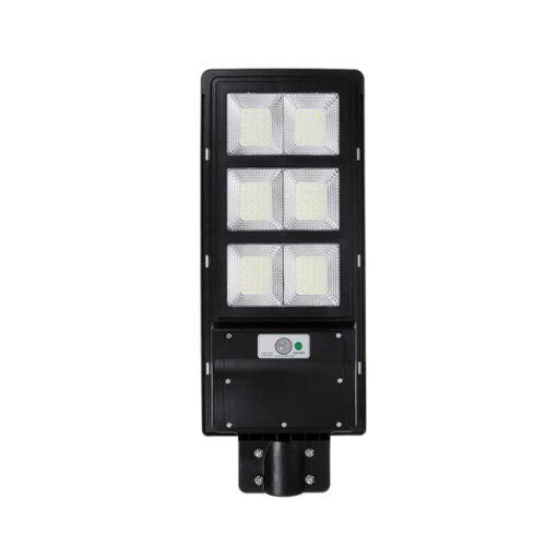 Mozgásérzékelős LED Lámpa Napelemes Kültéri Szolár 300W