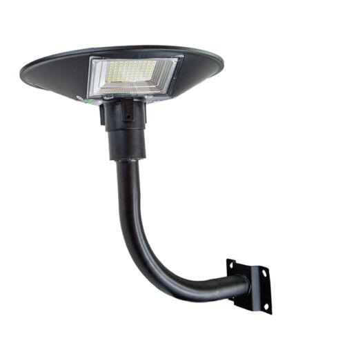 Mozgásérzékelős LED UFO napelemes kültéri szolár lámpa fali tartóval 240LED 150W