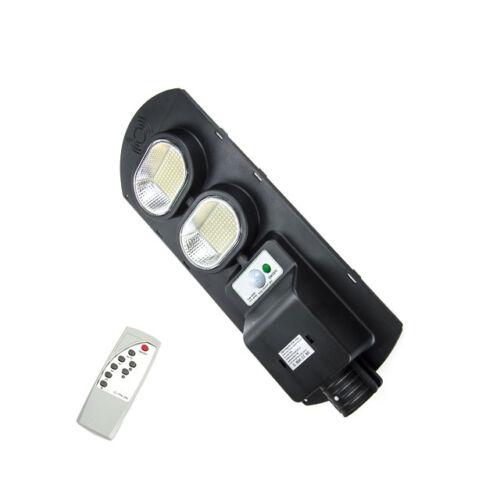 Napelemes szolár LED kültéri lámpa integrált szolár panellel távirányítóval 200W IP67