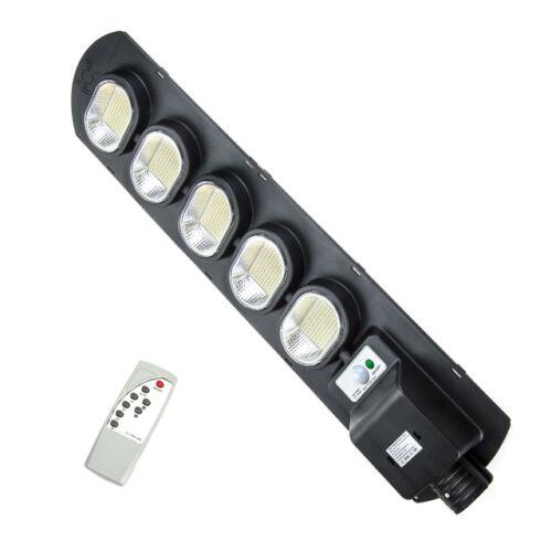Napelemes szolár LED kültéri lámpa integrált szolár panellel távirányítóval 500W IP67