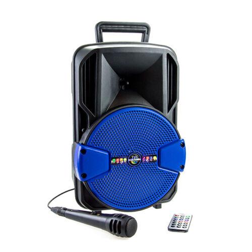 Bluetooth hordozható multimédia lejátszó karaoke mikrofonnal MP3 USB FM rádió TF CH-811