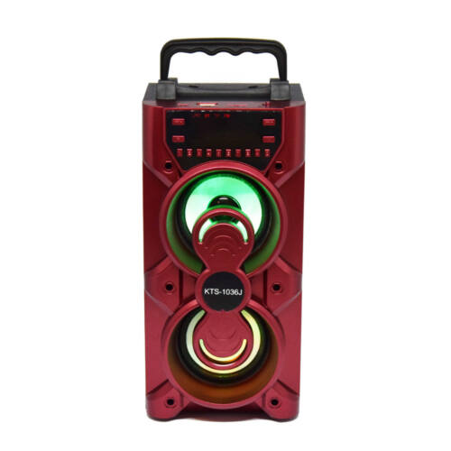 Bluetooth hordozható multimédia lejátszó MP3 USB FM rádió TF KTS-1036J