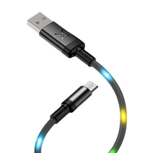 LED világítós USB töltő kábel Micro Usb kábel DC09M