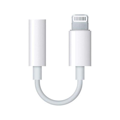 Apple Lightning to 3.5mm Headphone Jack Adapter fehér színben GL026