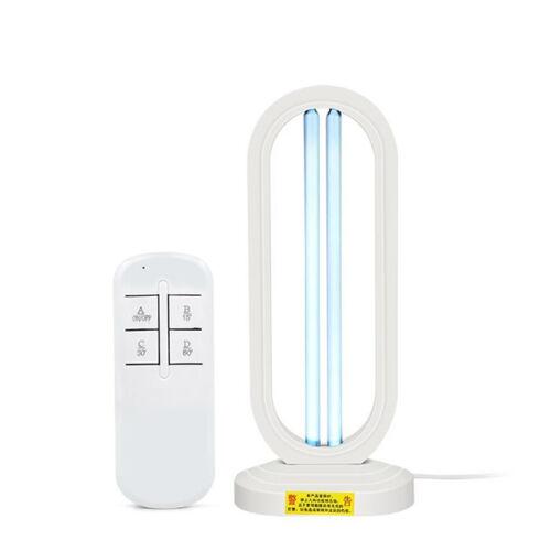 UVC baktériumölő lámpa 38W ózon-sterilizálás távirányítóval 40 m2 felületre