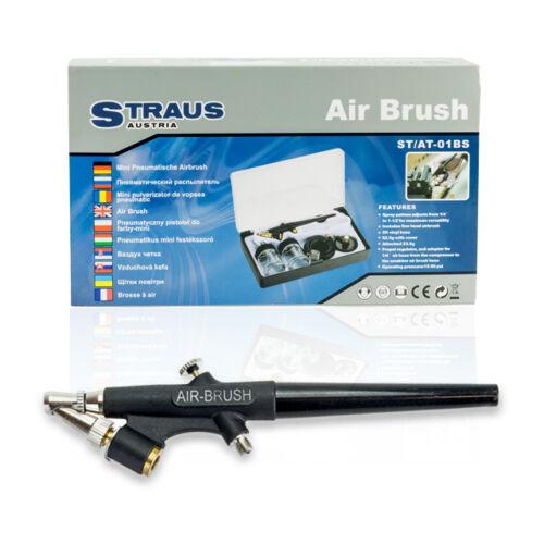 Straus airbrush pneumatikus mini Festékszóró Készlet ST/AT-01BS