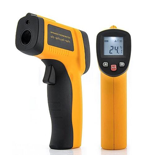 Lézeres Infra Hőmérő Pisztoly -50°C / 400°C  GM400